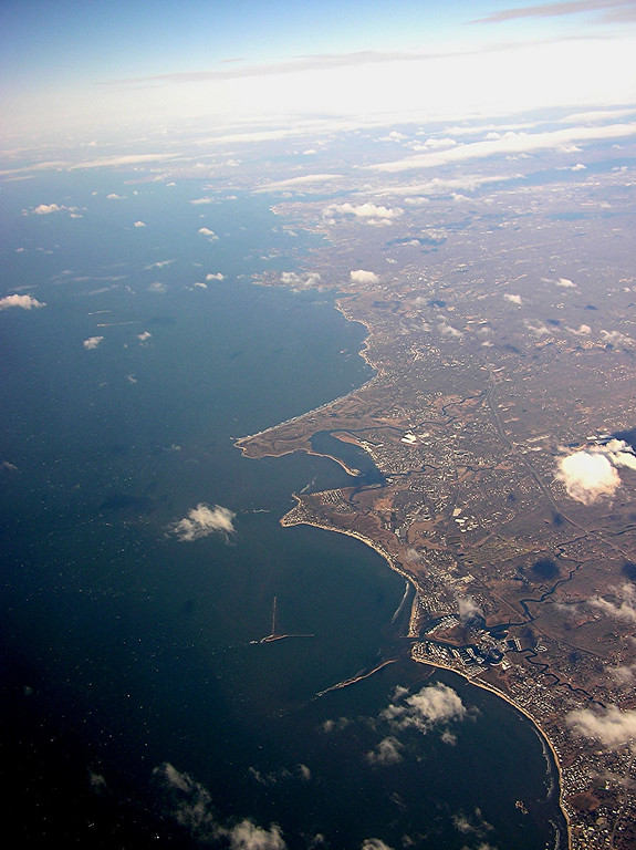 Connecticut coast.  Old Saybrook to New Haven