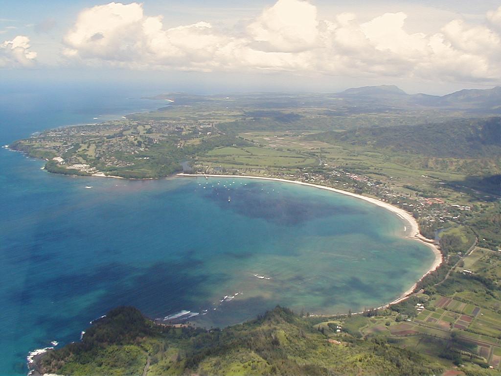 Honalae Bay.  Legendary home of Puff, (the magic dragon).