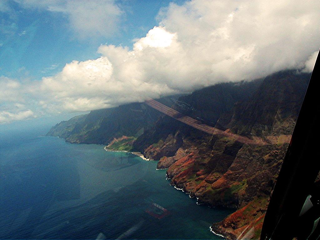 Napali Coast, West coast of Kawai