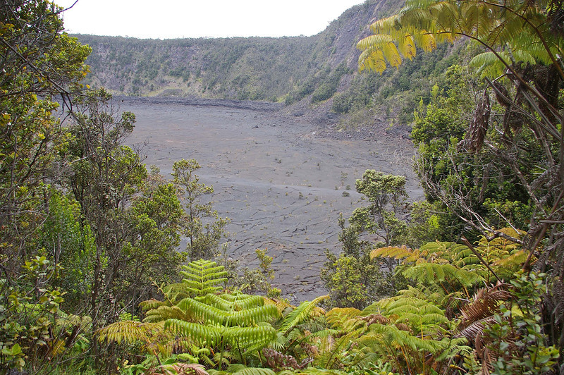Another look at Kilauea Iki Crater