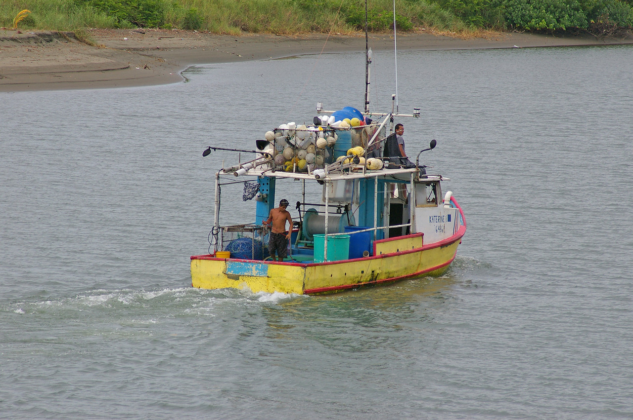 Fishing Boat, Quepos, CR