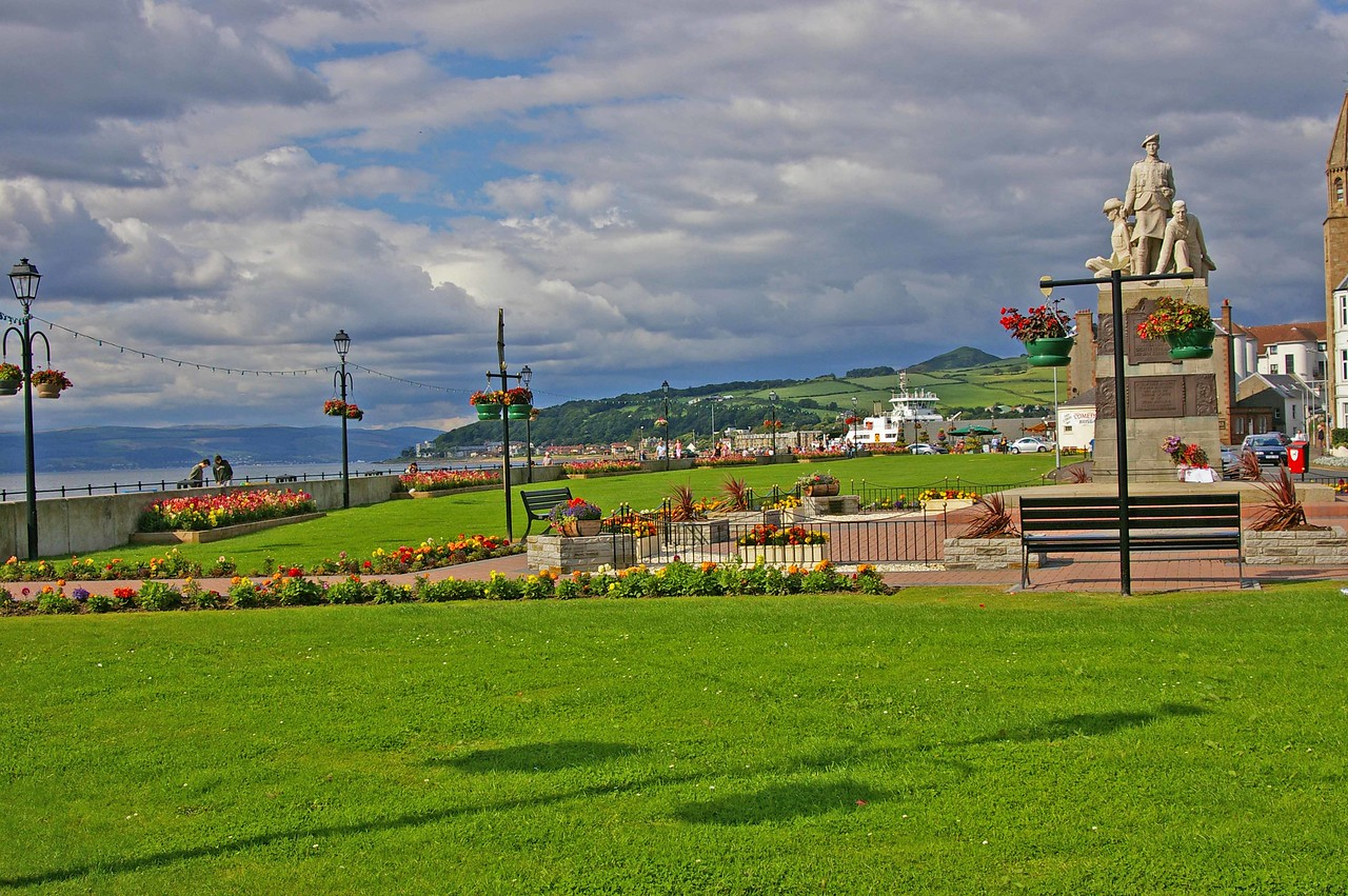 Largs, A small town on Scotlands West Coast