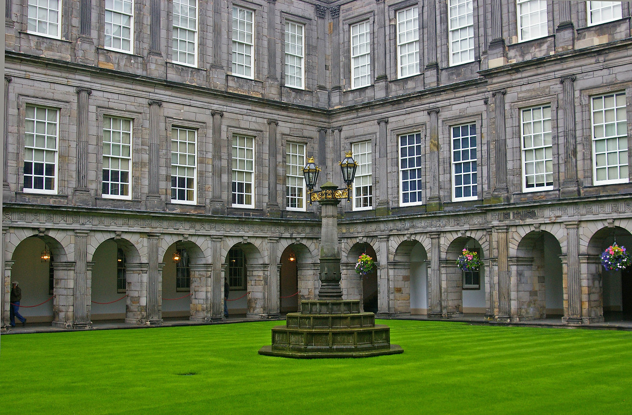 Courtyard at Palace of Holyroodhouse