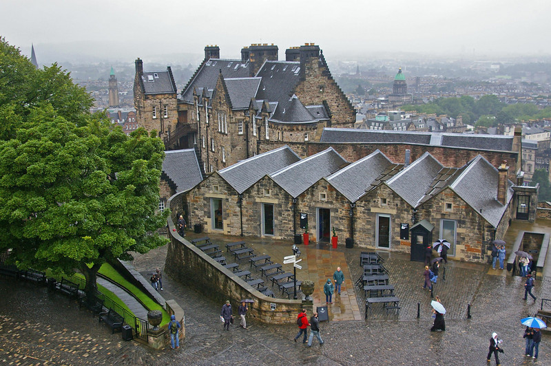 Part of Edinburgh Castle