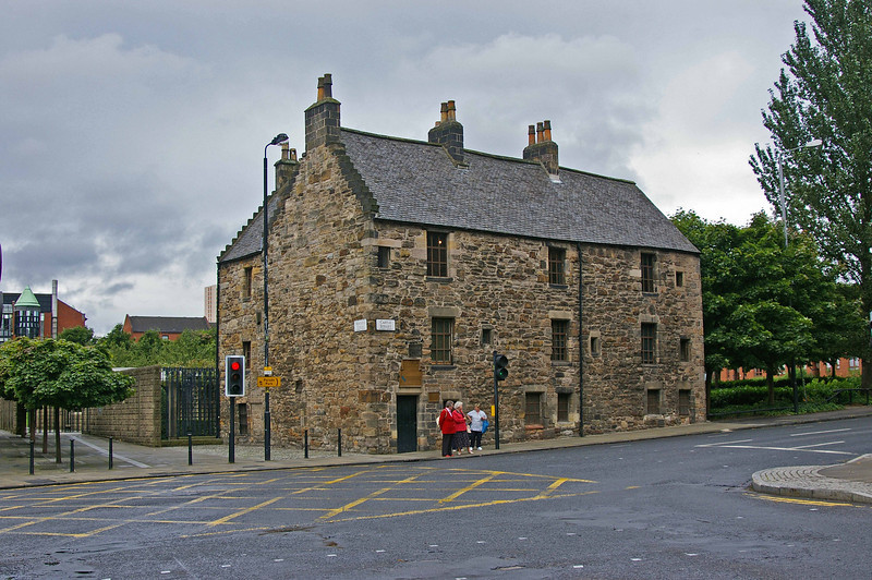 Oldest house in Glasgow,  1471 A.D.