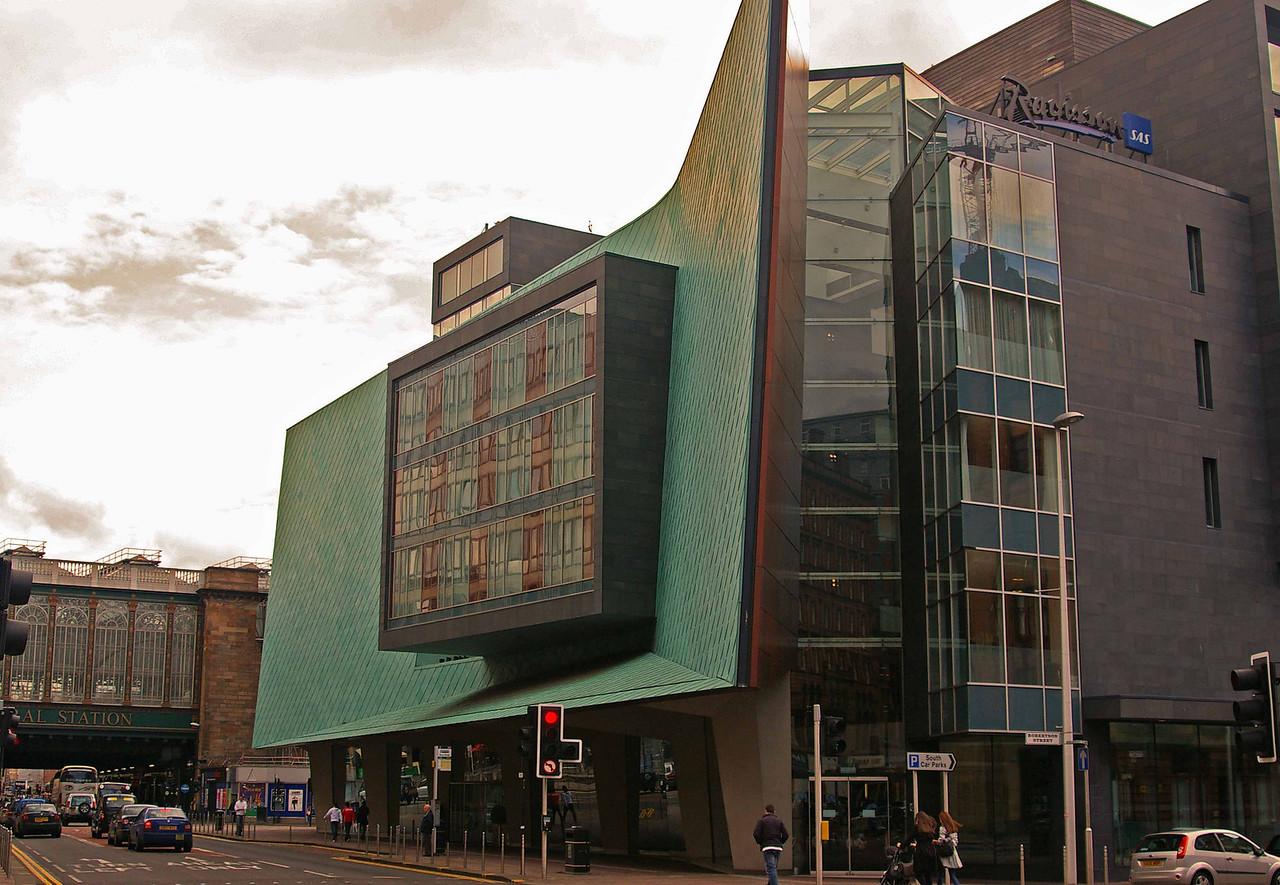 Strange hotel design, Glasgow