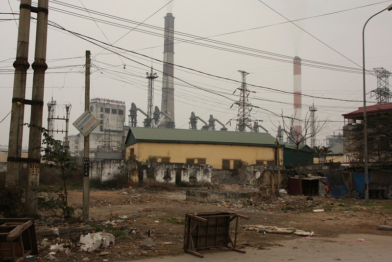 Coal Town Linh Hai Duong near Hanoi