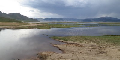 Terkhiin Tsagaan Lake (Great white lake), Mongolia