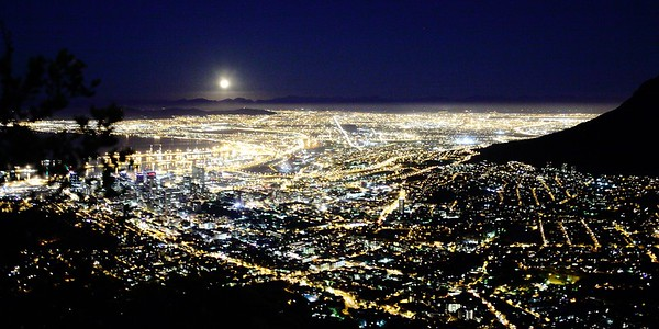 Night over Capetown - South Africa
