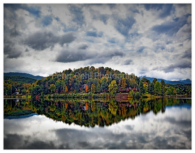 Cloudy day at Lake J.