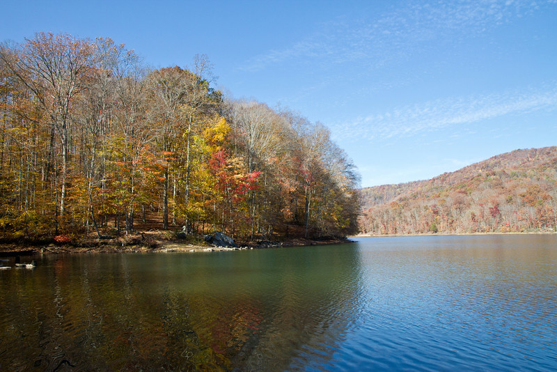 Cannon Creek Lake near Middlesboro, Kentucky