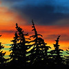Sunset on a Winter's Eve<br /> <br /> Edmonton, Alberta