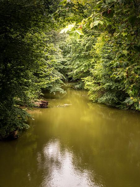 Summer canal