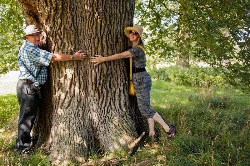 Tree Huggers Al and Ruth