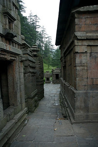 1000 Year old Hindu temple at Jageshwar.