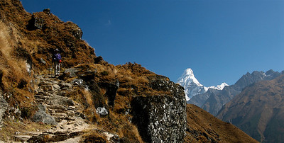 Trail to the Everest View Hotel.