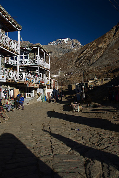 Muktinath village Nov 17th.