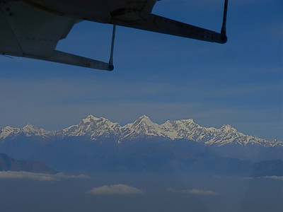 View from the flight to Pokhara. Nov 15th