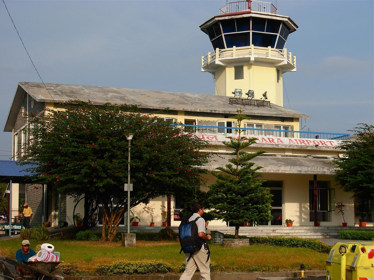 Pokhara Airport. Nov 15th