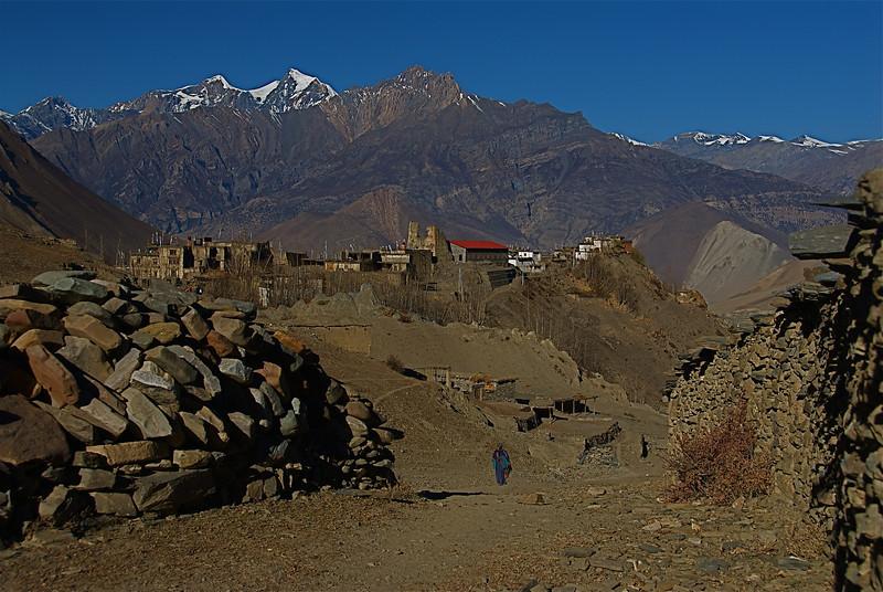 Jharkot, Nepal.