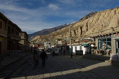 Streets of Jomsom