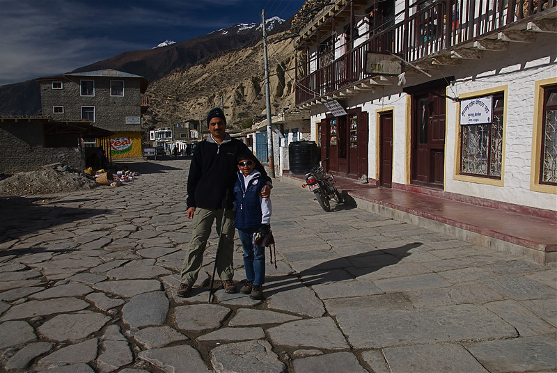 Streets at Jomsom.