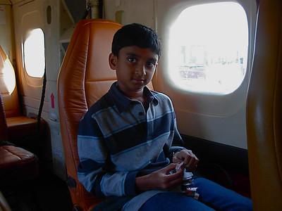 On the flight to Pokhara - Nov 15th