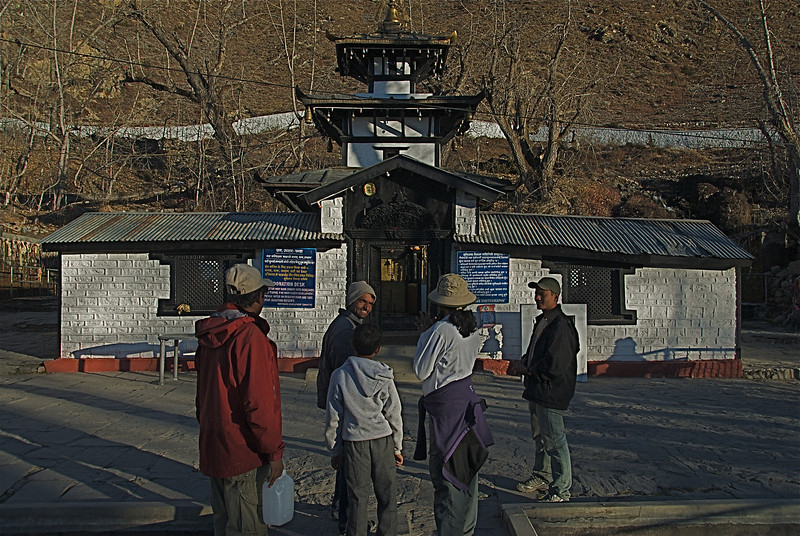Muktinath Temple. Nov 17th