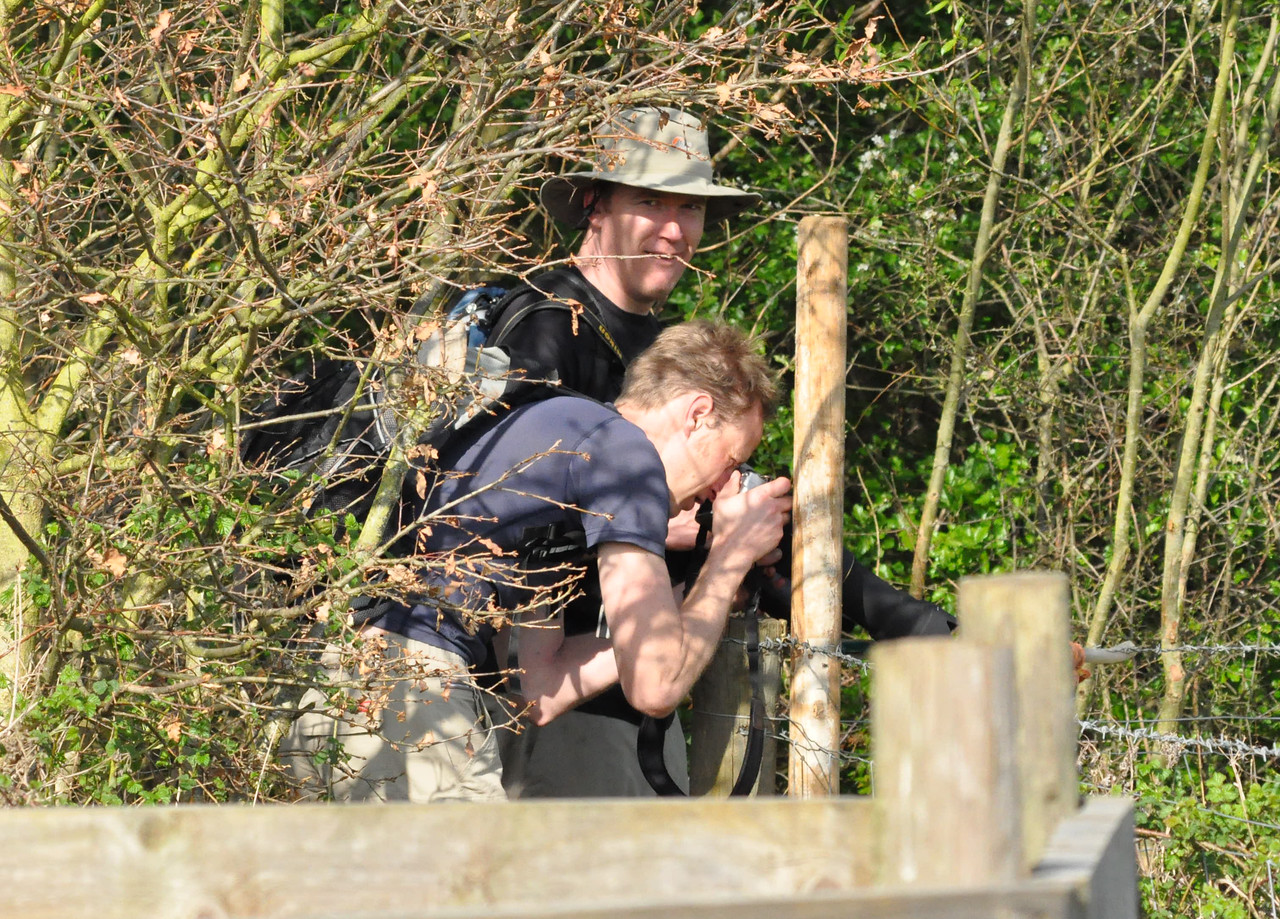 Bird twitchy geeks Otmoor April 2011