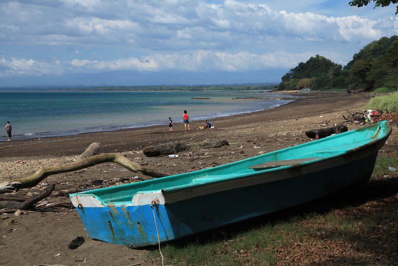 Beach scene near Tarcoles