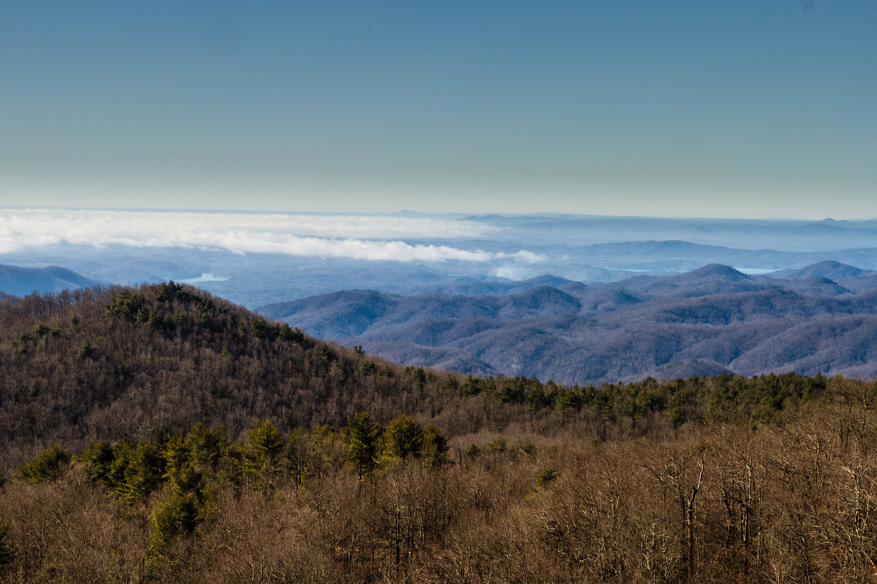 Sassafras Mtn. overlook