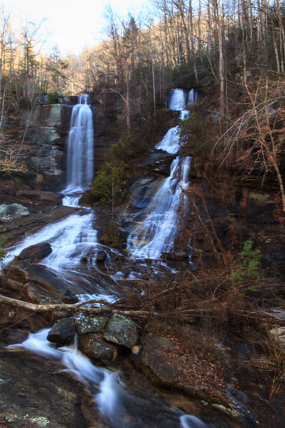 Twin Falls near Sunset SC