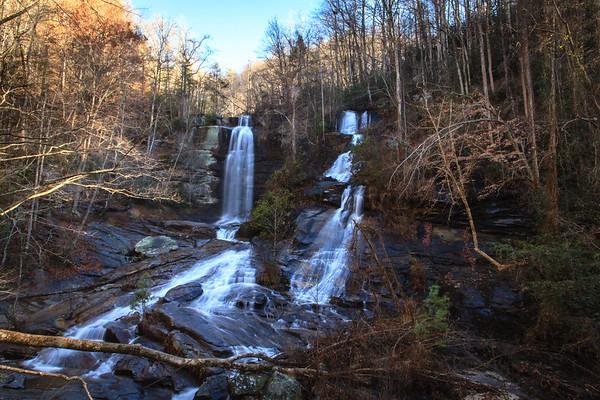 Twin Falls & Sassafras Mtn.