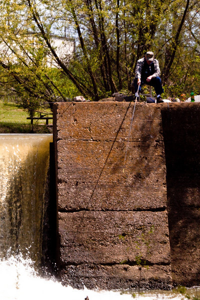 Dam at Fisherman's Park, Shelbyville, TN