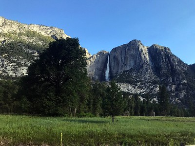 Upper Yosemite Falls Hike
