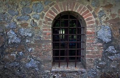 Ancient windows.