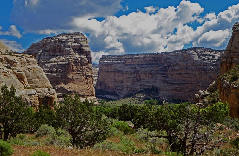 Yampa, hike up side canyon
