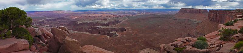 Canyonlands white rim panorama