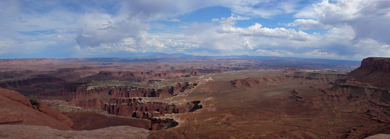 Canyonlands, white rim panorama