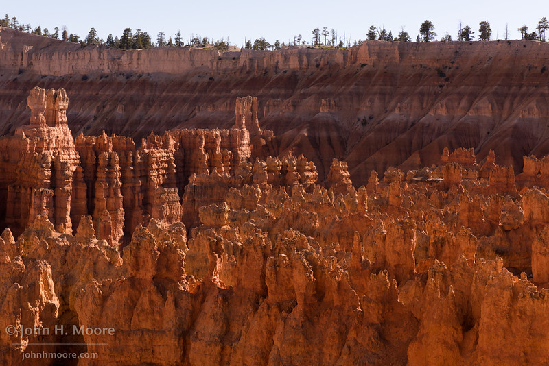 Silent City in Bryce Canyon, afternoon light.  Bryce Canyon National Park, Utah.