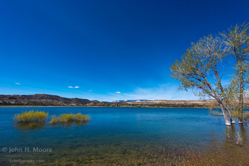 Wide Hollow Reservoir, along Highway 12 in Utah.