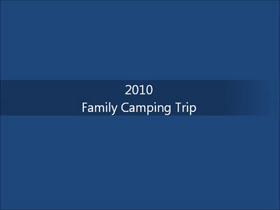 2010 - family camping trip at RMNP