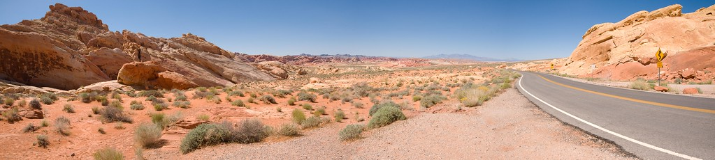 Five Photo Valley of Fire Panorama 2010