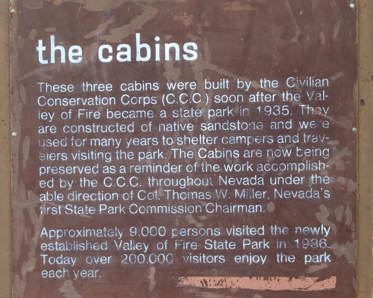 Interesting story on the cabins.