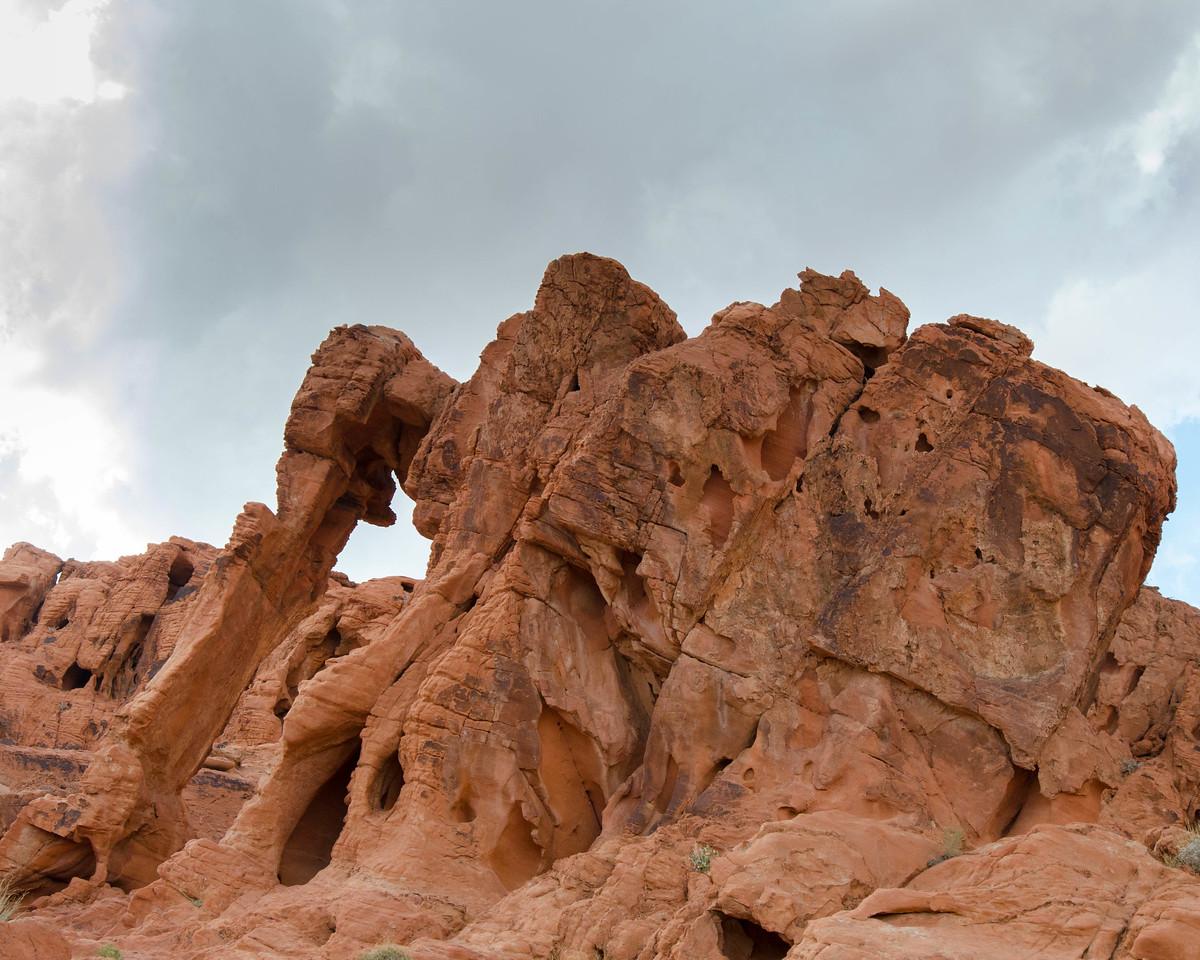 The elephant rock.