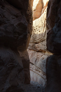 Now leaving the slot canyon.