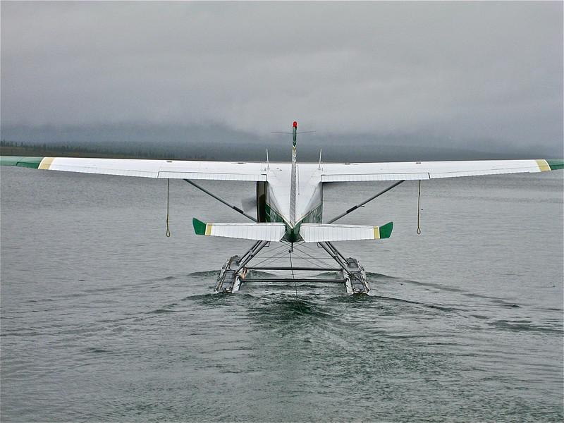 Alaska, ready for takeoff.