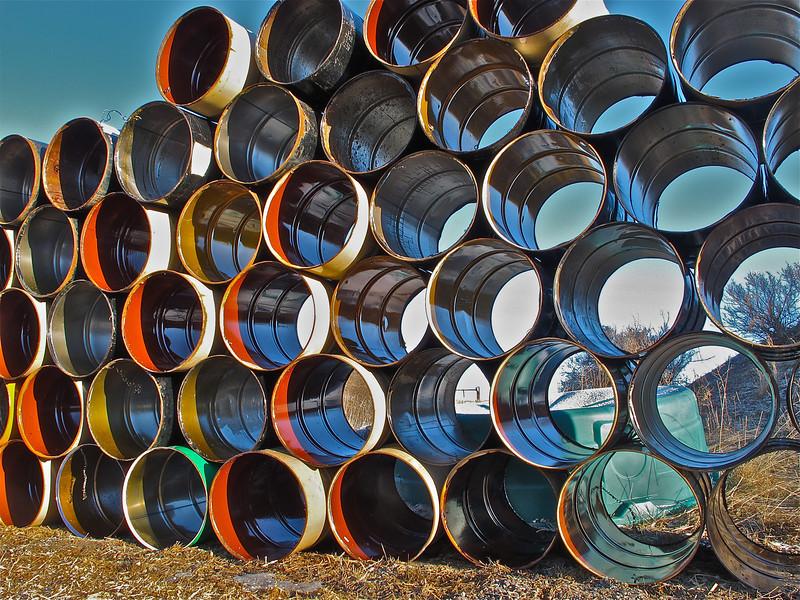 Barrels for recycling