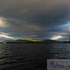 A bowl of sky envelops Squam Lake and Red Hill.
