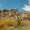 Panorama of Vedauwoo rocks